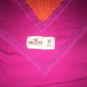 Hollister xs tank and s tee